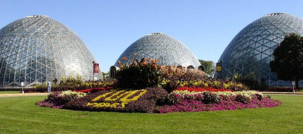 The Mitchell Park Domes In Milwaukee Wisconsin No Place Quite