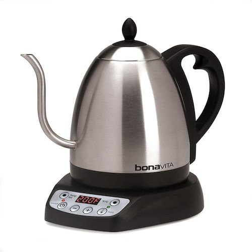 19 Awesome Electric Kettles That You Ll Never Want To Put Away Gooseneck Kettle Electric Tea Kettle Kettle