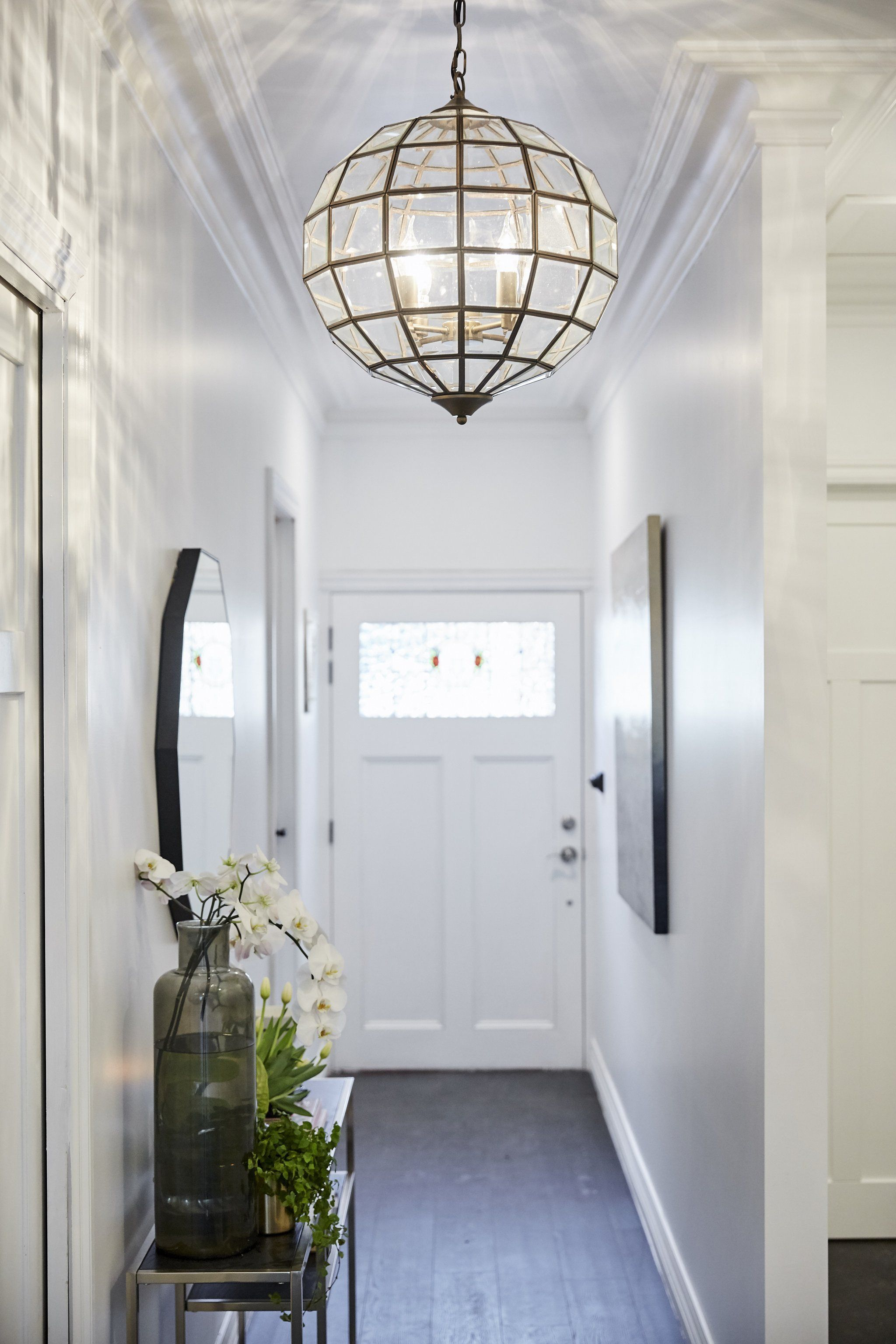A Guide To Get The Best Out Of Your Hallway Decoration Hallway Lighting Small Entryways Small Hallways