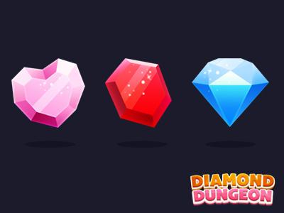 Diamond Elements Game Gem Game Item Freak Games