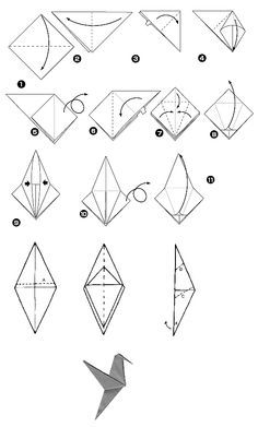 Origami Beija-flor