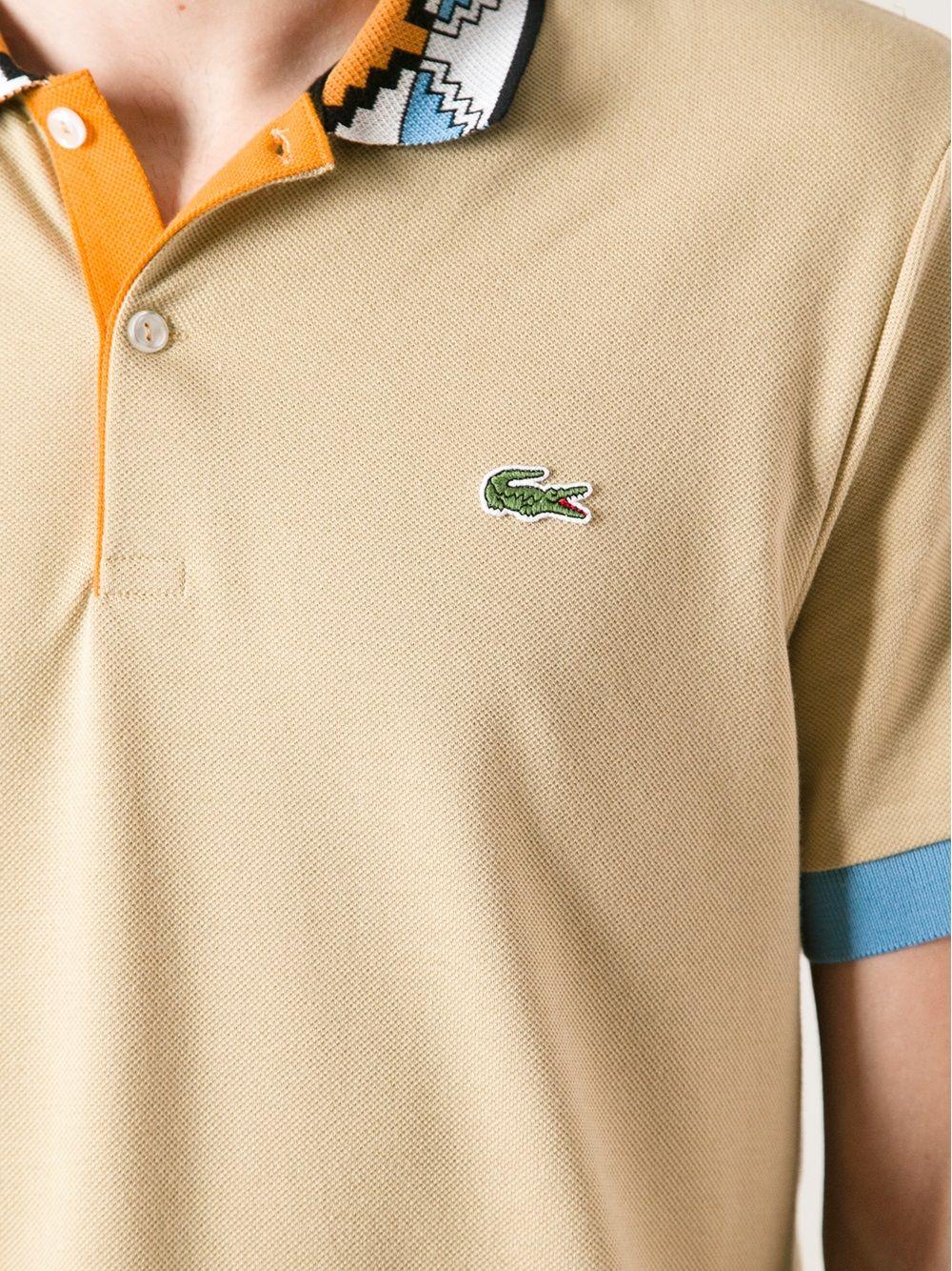 7e16673fd1 Lacoste Live Polo Shirt.   MEN'S STYLE   Polo t shirts, Lacoste polo ...