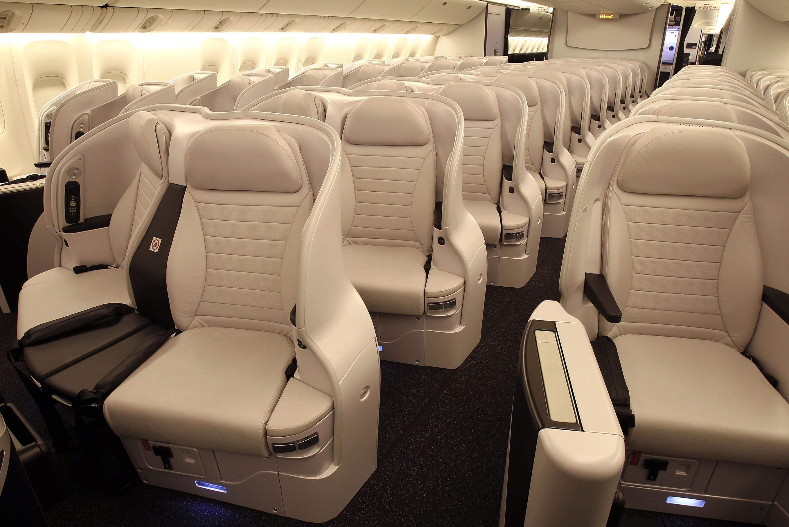 Air New Zealand Premium Economy Spaceseat Airplane Interior