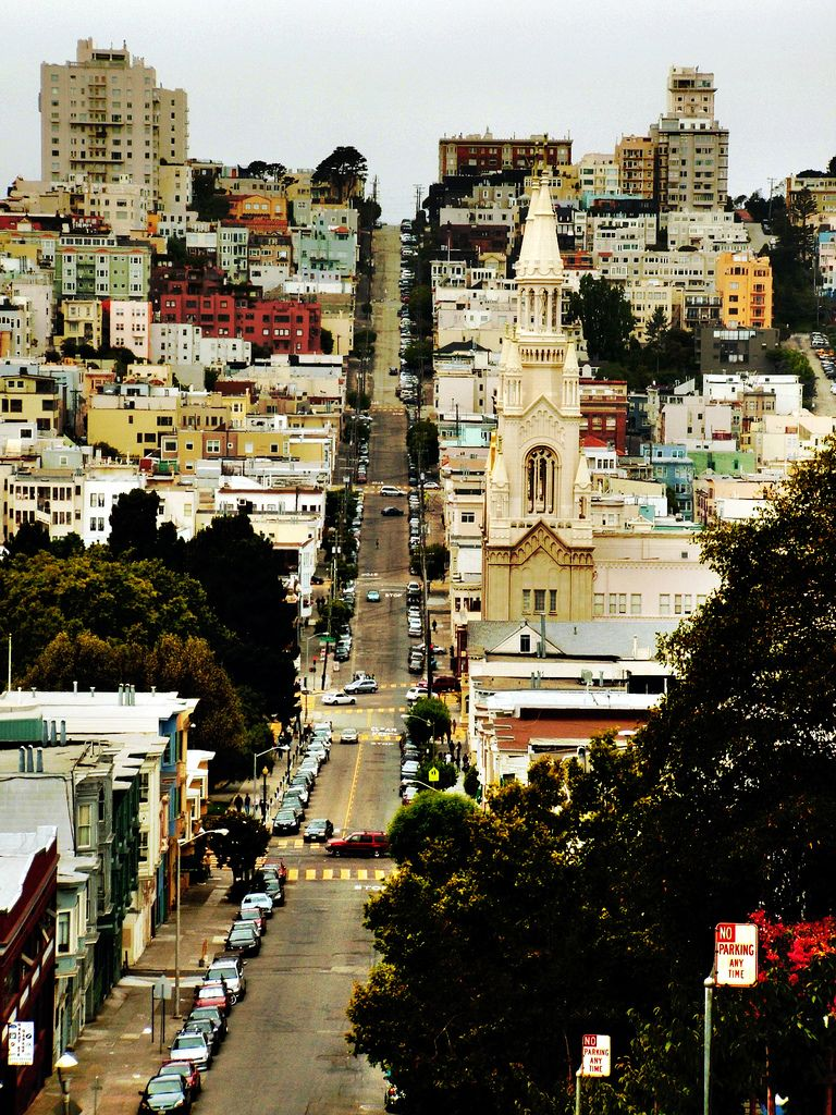 Filbert Street. San Francisco in 2020   Places to travel. Places to go. Places to visit