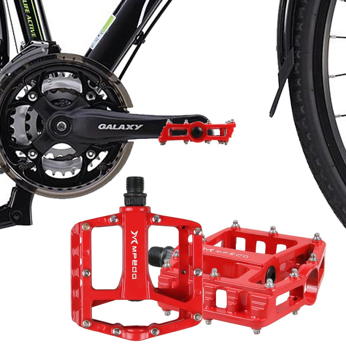 "BMX Bike Bicycle 3 Bearing Flat-Platform 9//16/"" Pedals Cycling Mountain MTB"
