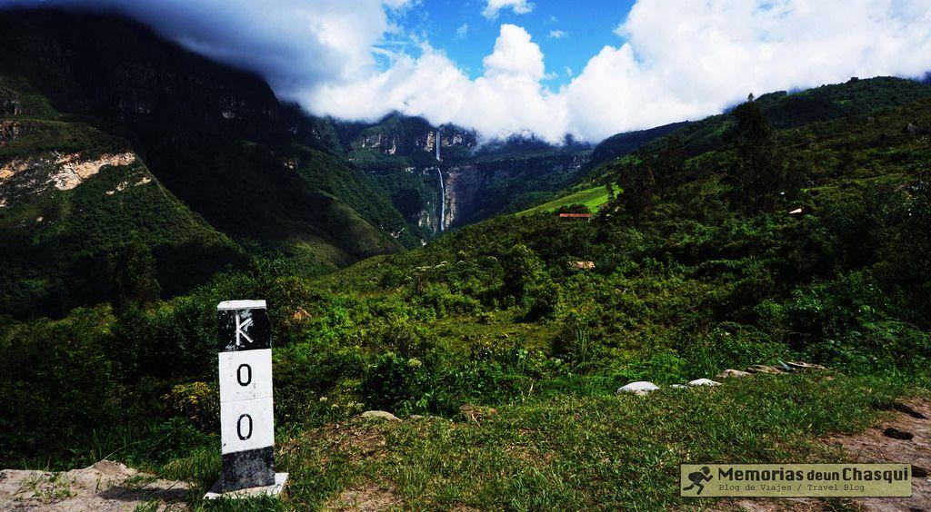 Beginning of the trekking. Gocta - Peru