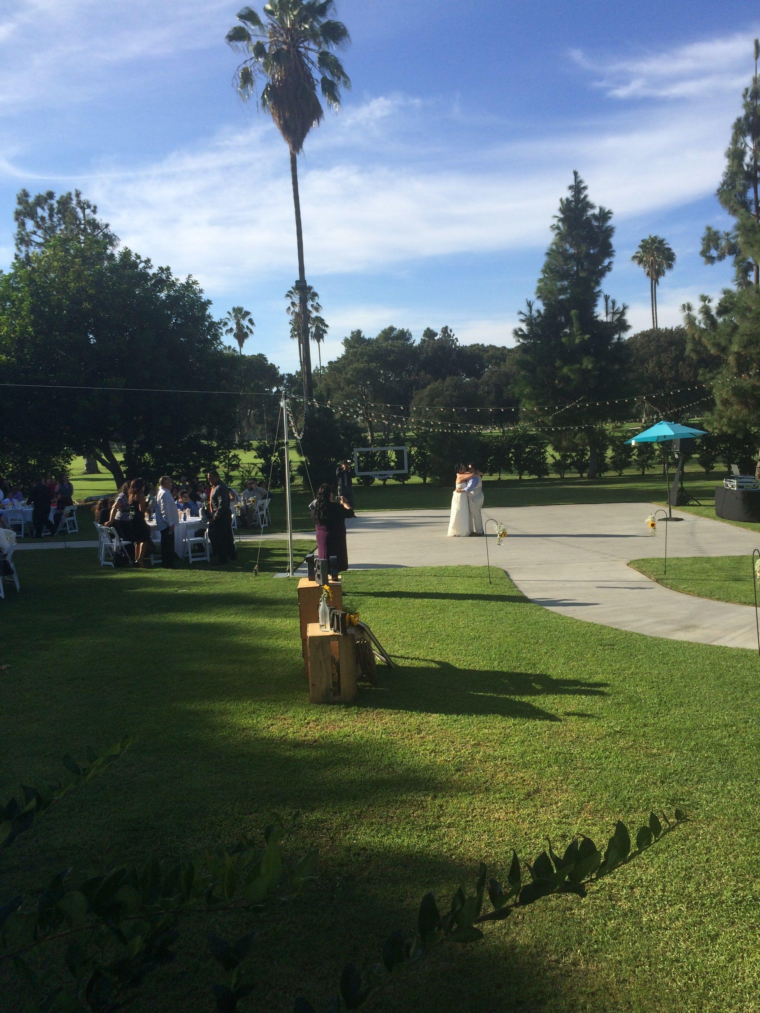 Outdoor Wedding At Los Amigos Golf Course In Downey Ca Love Wins
