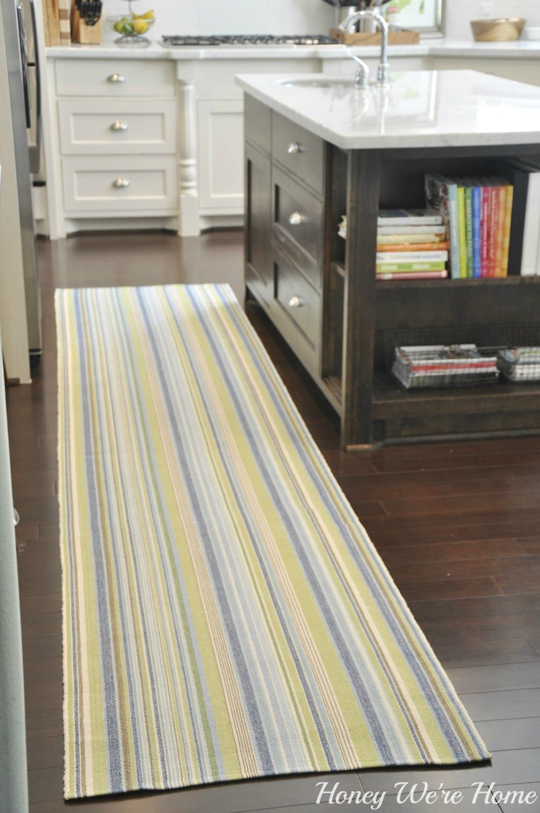 Honey Weu0027re Home: Adding Color In The Kitchen. Link To Great Website For  Rugs, Rugstudio