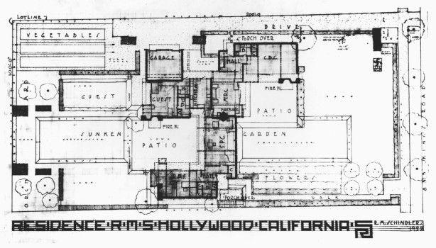 schindler chase house plan - google zoeken | rudolf schindler