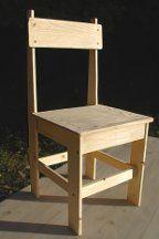 comment construire une chaise en bois