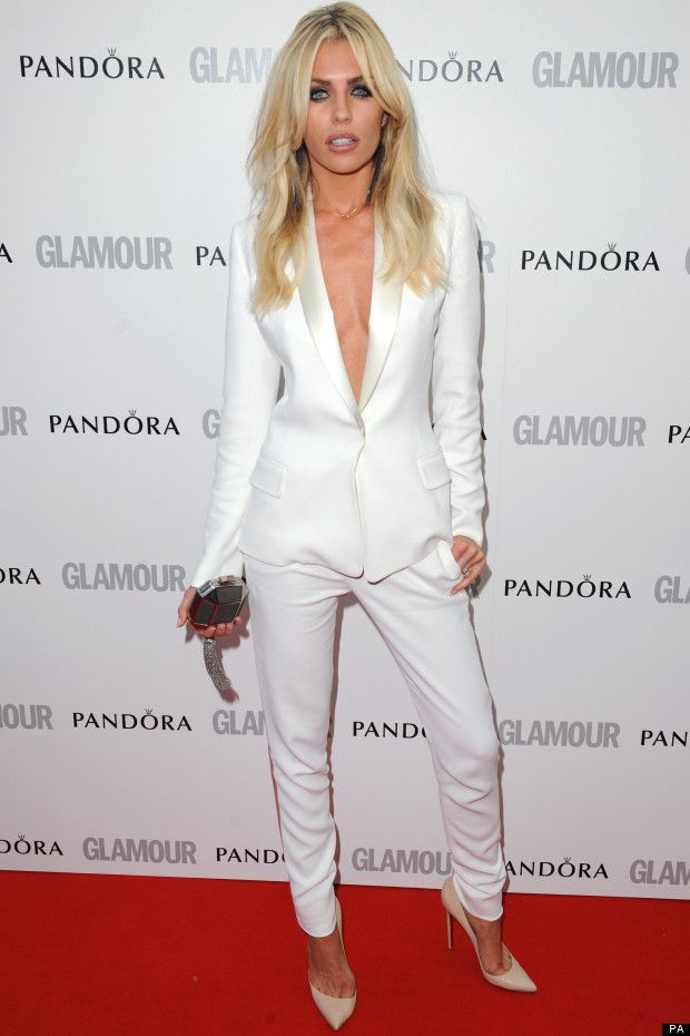 celebrity white 3 piece suit women - Google Search | Women ...