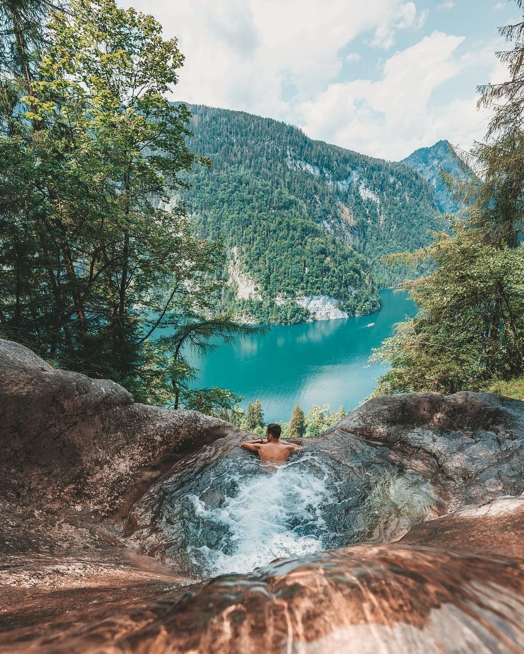 Now Discovering The Lake Konigssee In Bavaria Germany With Backpackpassion Getting To Lake Konigss Europe Travel Destinations Germany Travel Places To Travel