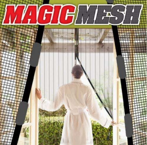 Magic Mesh Magnetic Screen Door Cover As Seen On Tv Comfy Home