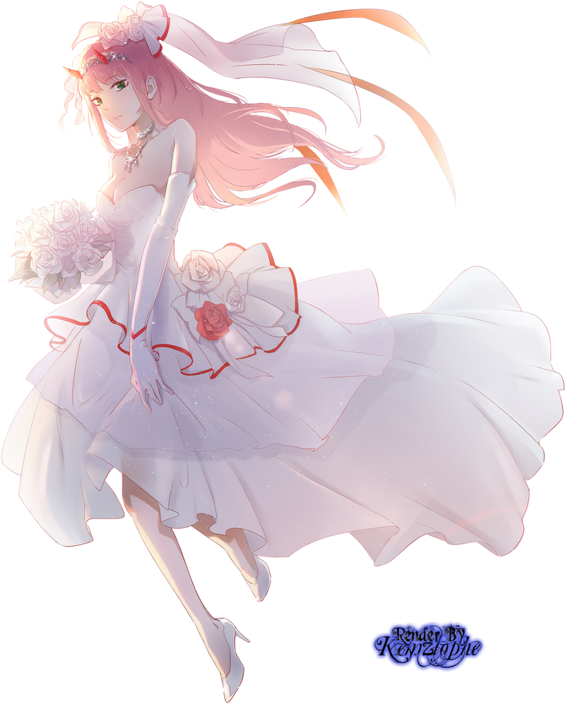 Darling In The Franxx Zero Two Render By Kemzlophe Darling In The Franxx Zero Two Rendering