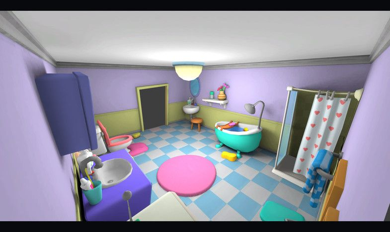 Cartoon Bathroom Sponsored Affiliate Bathroom Cartoon