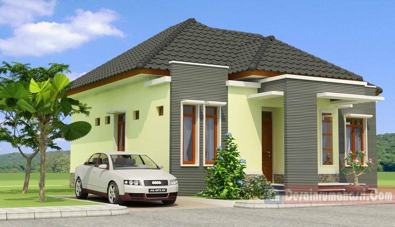 Desain Rumah Atap Limas House Paint Design Small House