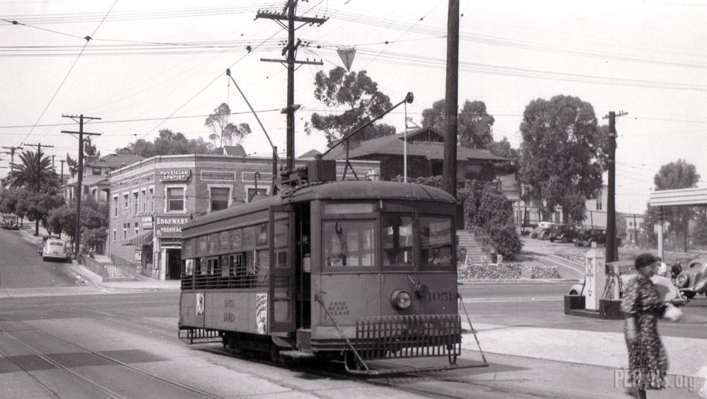 Shuttle Line Edgeware Rd Temple St California History Cities In Los Angeles Los Angeles History