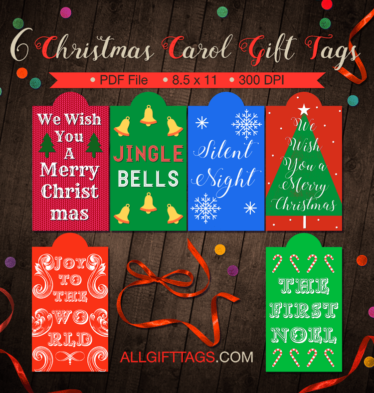 Christmas carol gift ideas