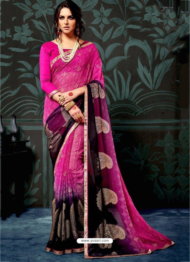 eddc5a668a Rani Chiffon Printed Saree. Rani Chiffon Printed Saree Indian Designer  Sarees ...