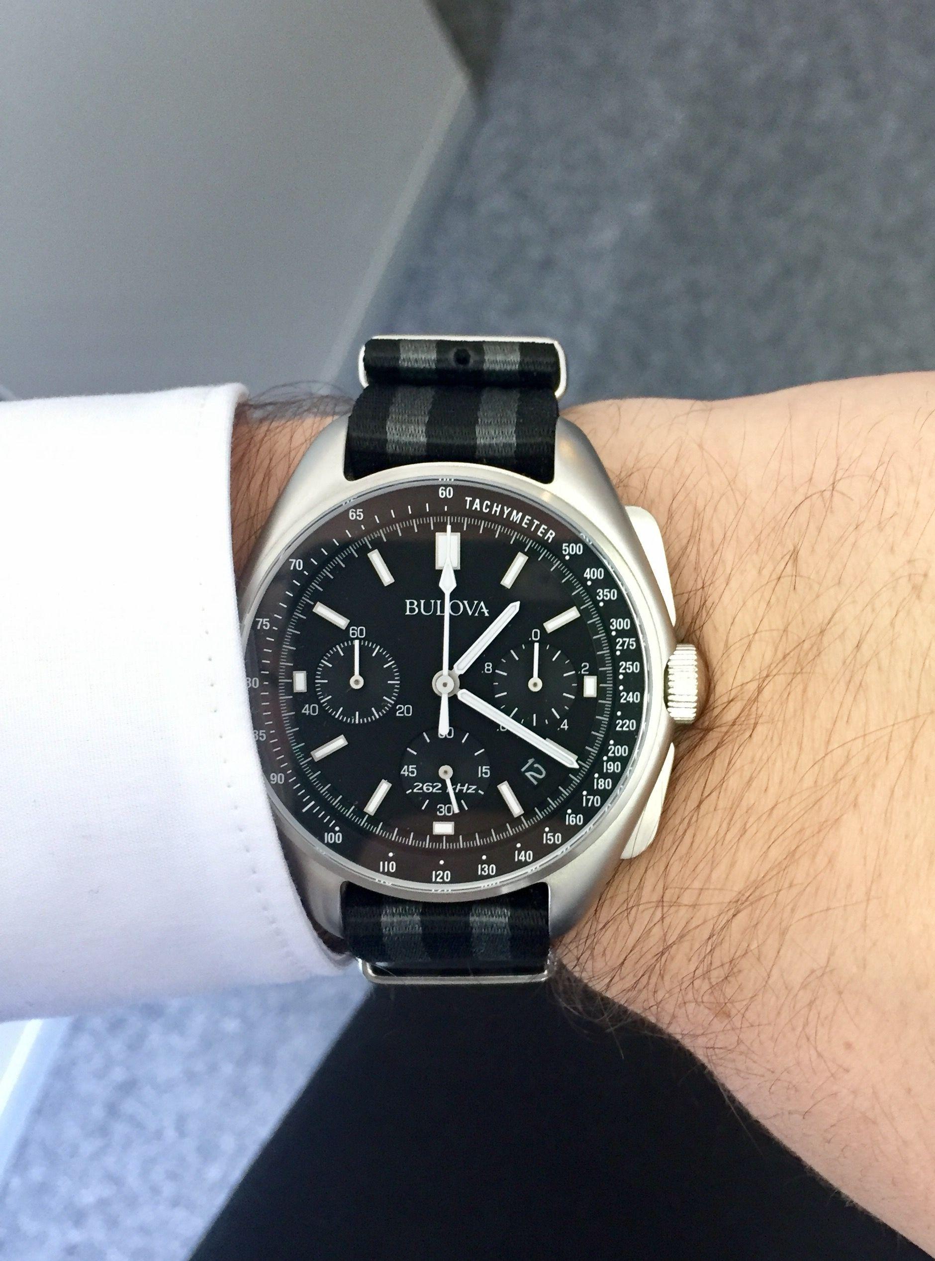 Bulova Moonwatch NATO Watches in 2018 Pinterest