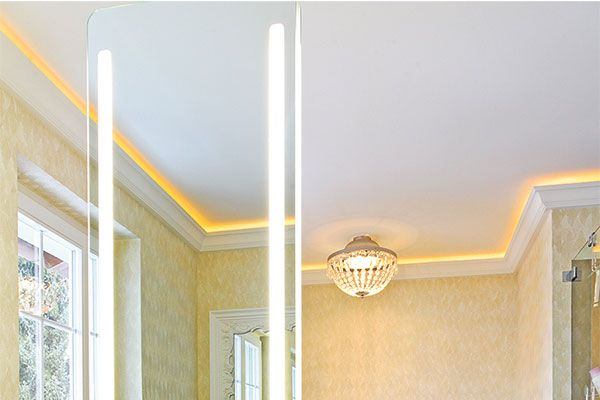 indirekte beleuchtung stuck decke light Flur Pinterest Haus