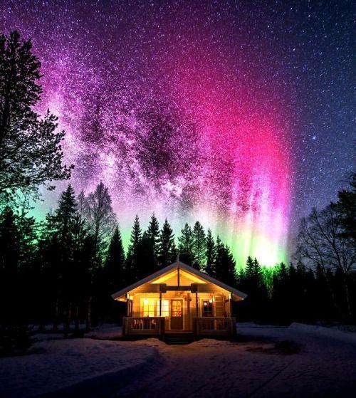 Milky way and Aurora's….by mtl photography | Aurora ...
