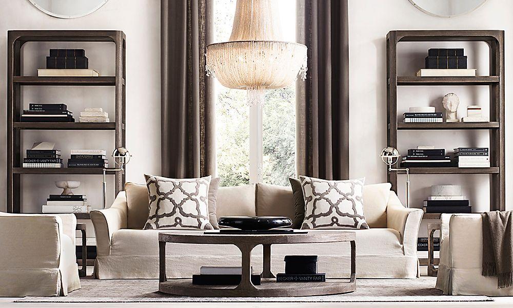 Restoration Hardware Is The Worldu0027s Leading Luxury Home Furnishings  Purveyor, Offering Furniture, Lighting, · Living Room IdeasLiving ... Part 89