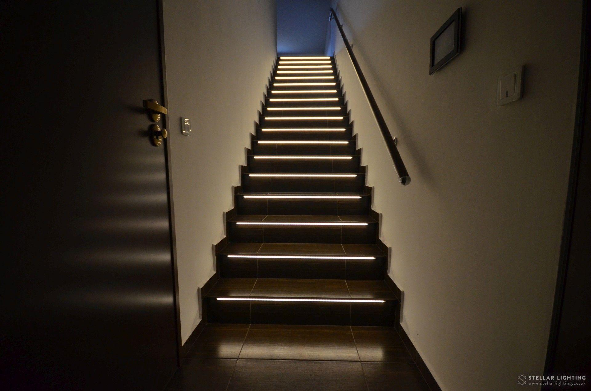 Smart Stair Lights Stair Lights Stairs Stair Lighting