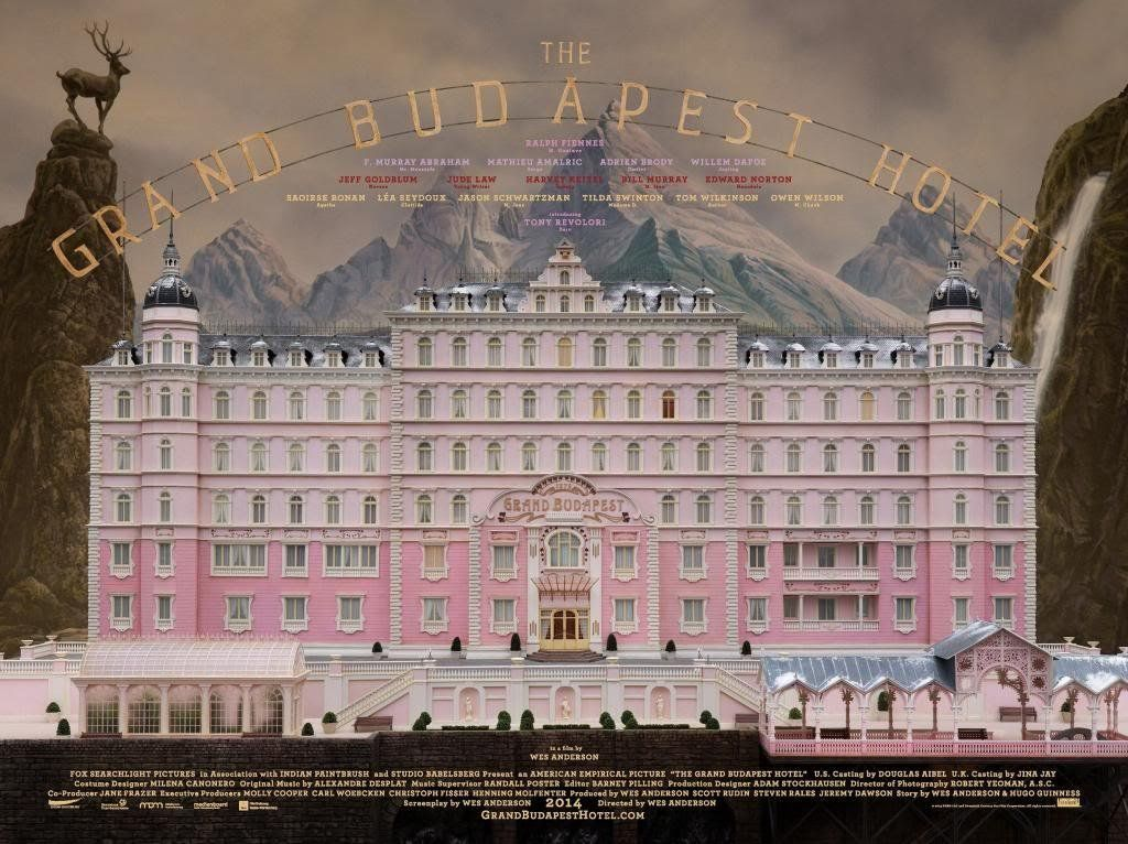 THE GRAND BUDAPEST HOTEL - US Imported Movie Wall Poster Print ...