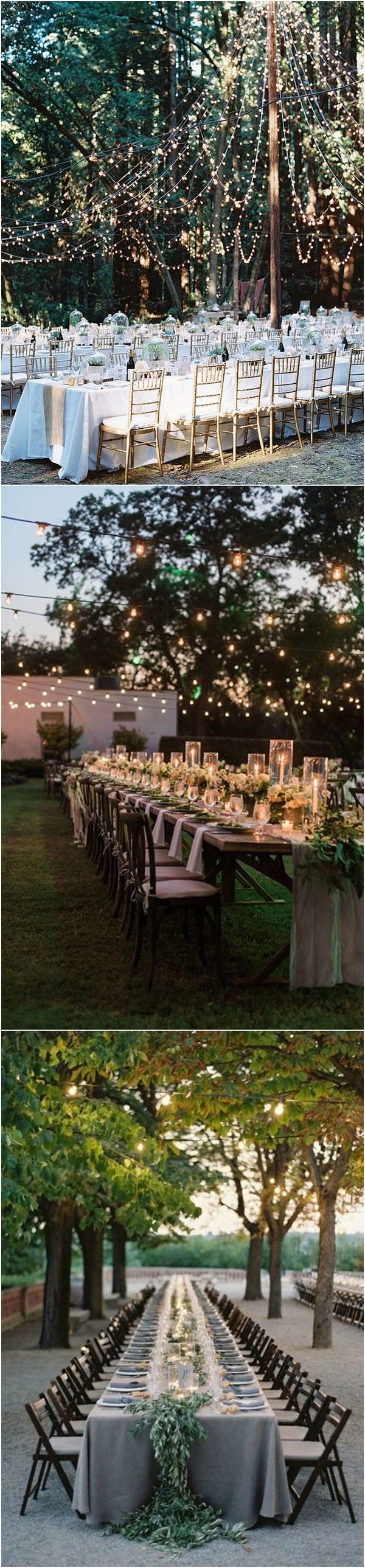 Wedding decoration ideas outside  Top  Whimsical Outdoor Wedding Reception Ideas  Page  of