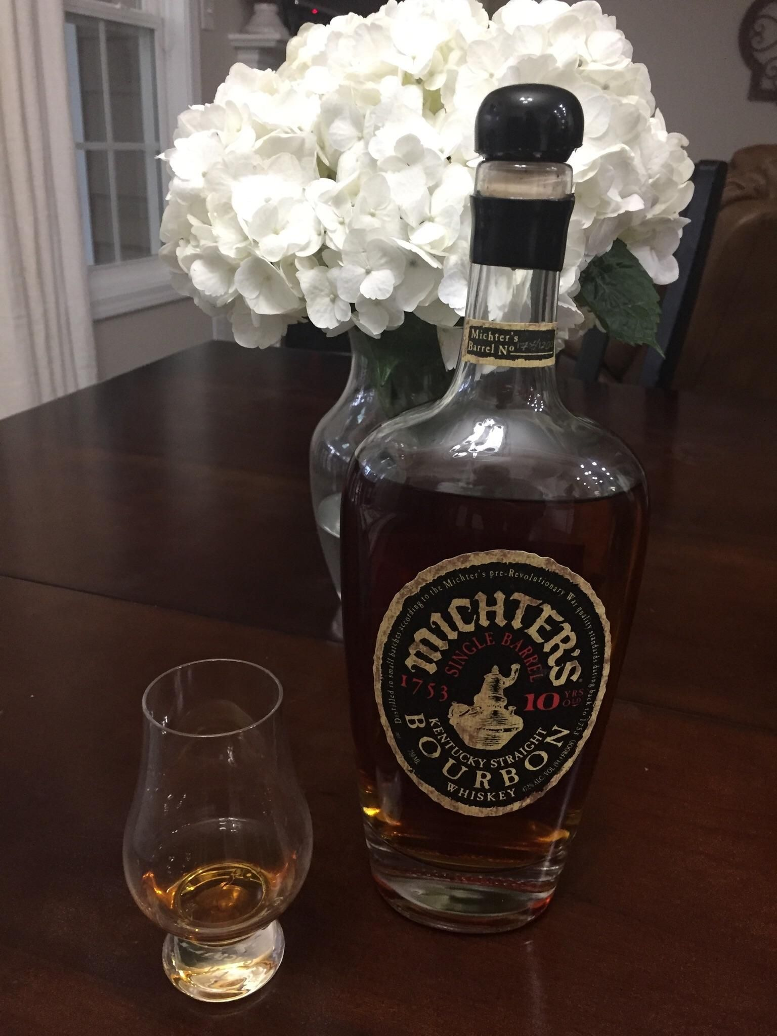 Noob Review 008 Michters Single Barrel 10 year https