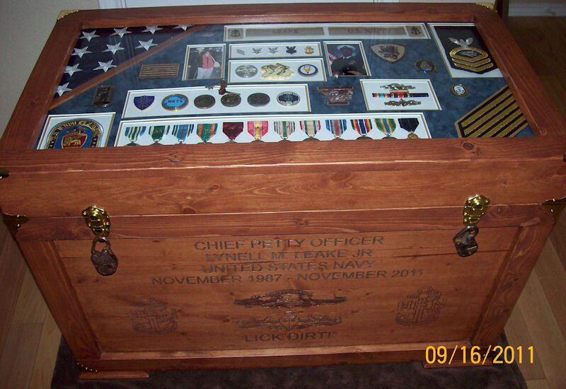 Love This Chest Shadow Box Displys Military Shadow Box