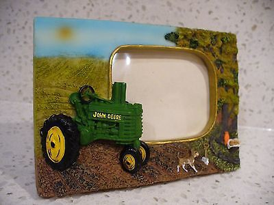 Collectible John Deere Handpainted Farm Scene Resin 3D Picture Frame ...