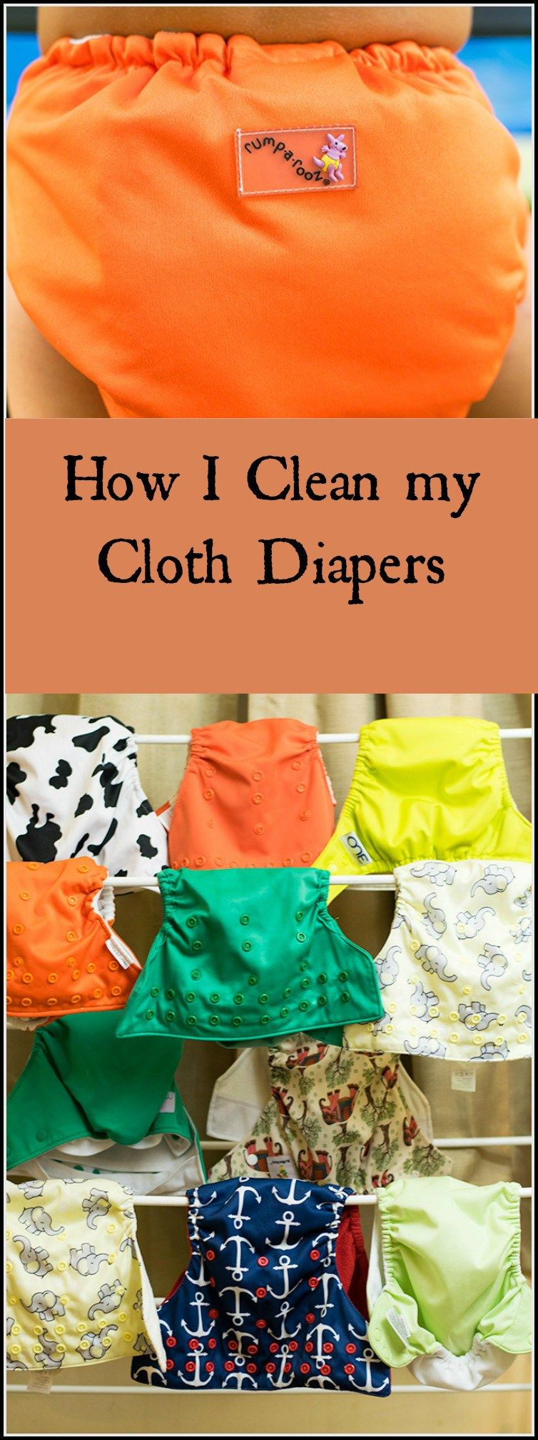 How I Keep My Cloth Diapers Clean Cloth diapers, Wash