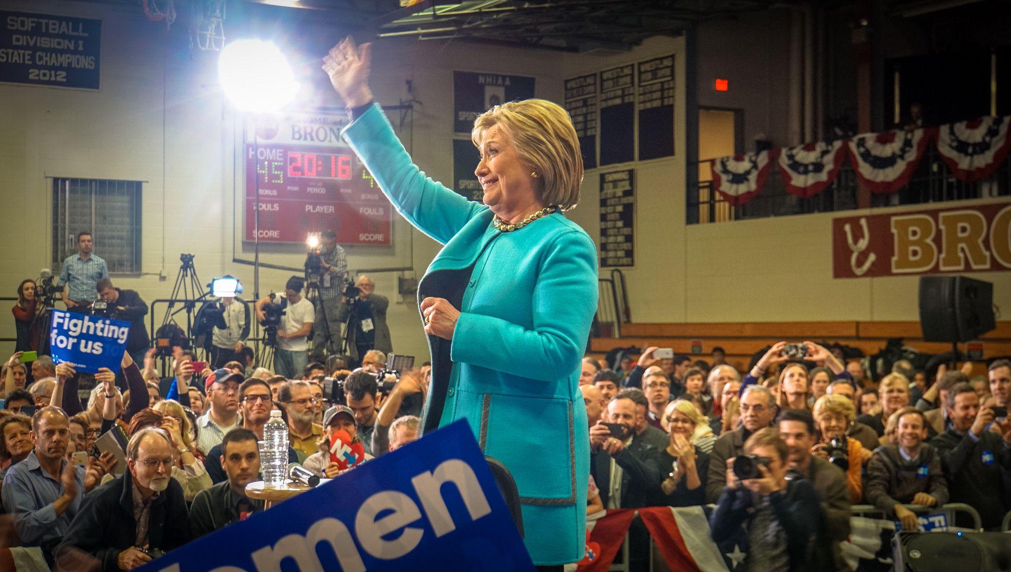 Clinton vann ett nomineringsm%C3%B6te till idag - USAval.se