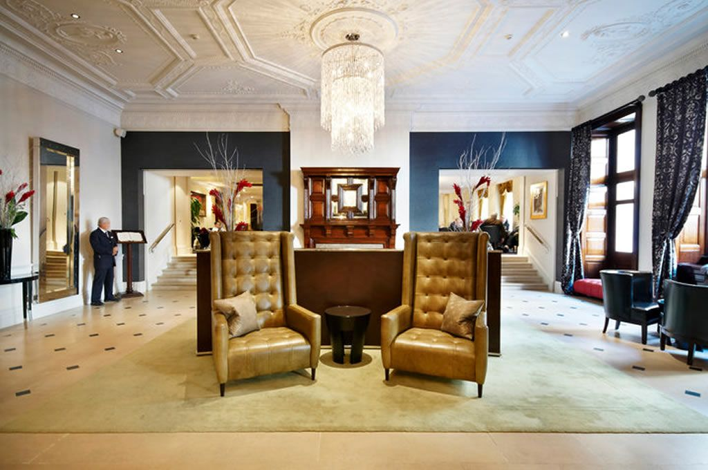 Luxury Hotel Lobby Hospitality Interior Design Of The Royal Horseguards London Hotels Contemporary Room