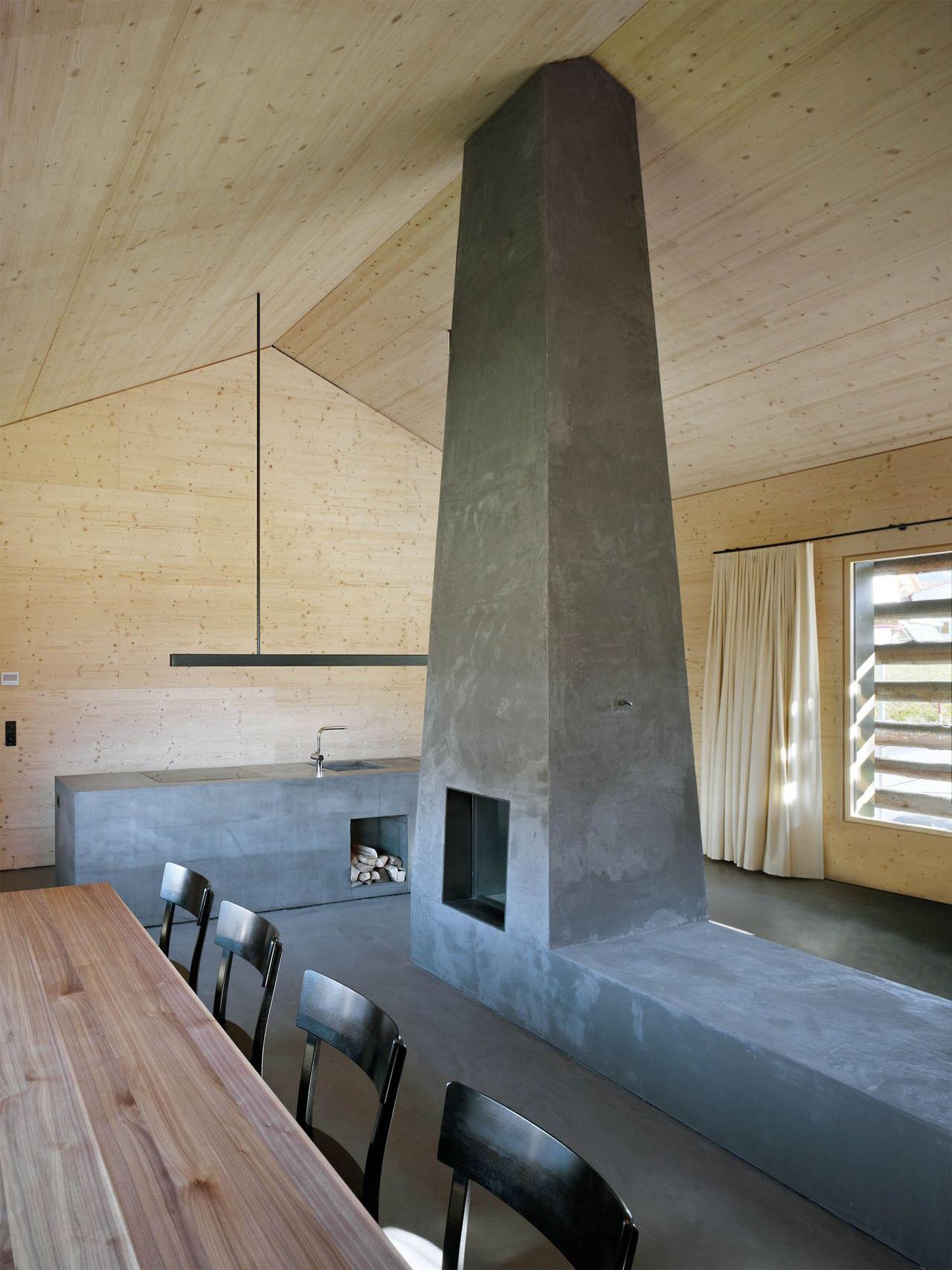 pejs, skorsten, beton
