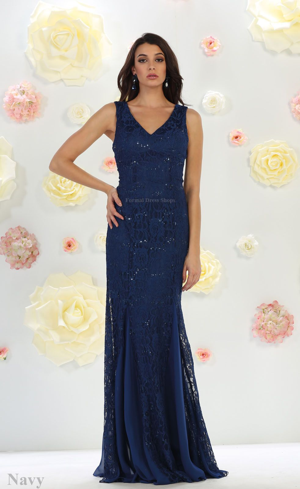 Nice formal prom lace dress evening mermaid gown special occasion