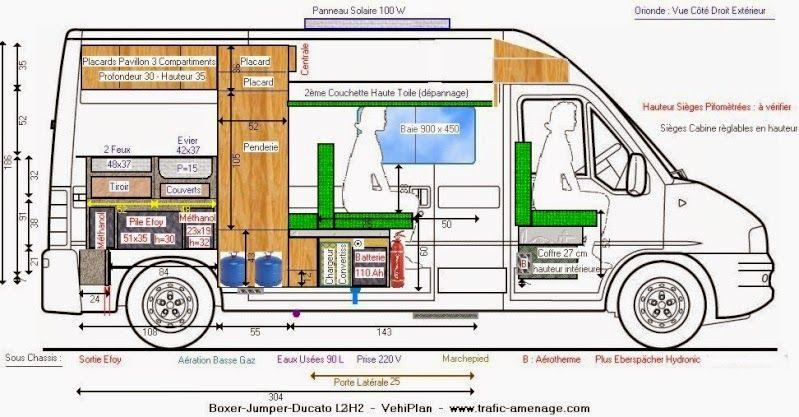 Um Pouco Mais Sobre O Furgao Ducato Kombi Home Motorhome Casa Sobre Rodas