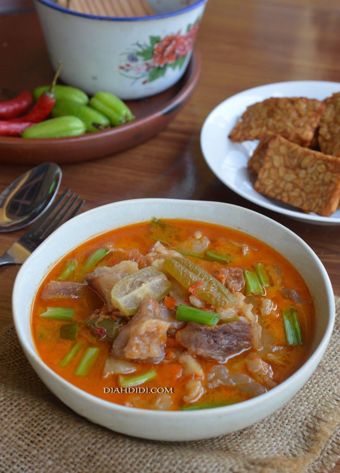 Jangan Kesrut Khas Banyuwangi Resep Masakan Indonesia Resep Masakan Masakan