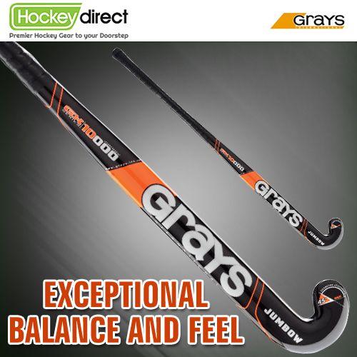 Grays GX 10000 Jumbow Hockey Stick with new embossed design and finish for 2014. #hockey #fieldhockey #grays