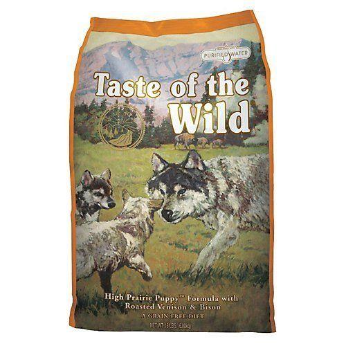 Taste Of The Wild Sierra Mountain Grain Free Dry Dog Food 30 Lb
