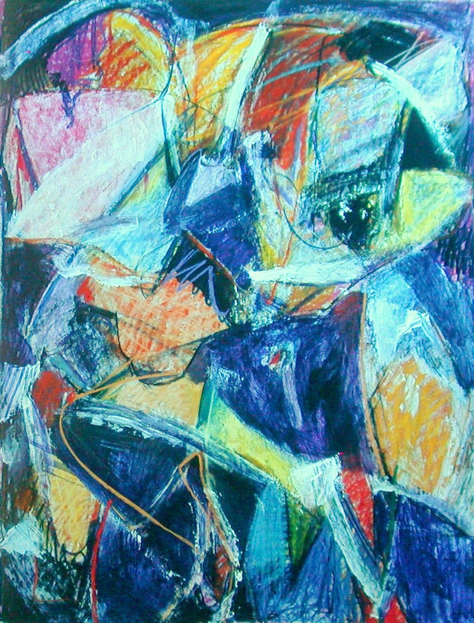 016 pastel painting by John Warren Oakes