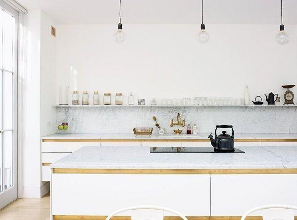 cucina con scaffali o mensole | Scaffali, Mensole e Cucina