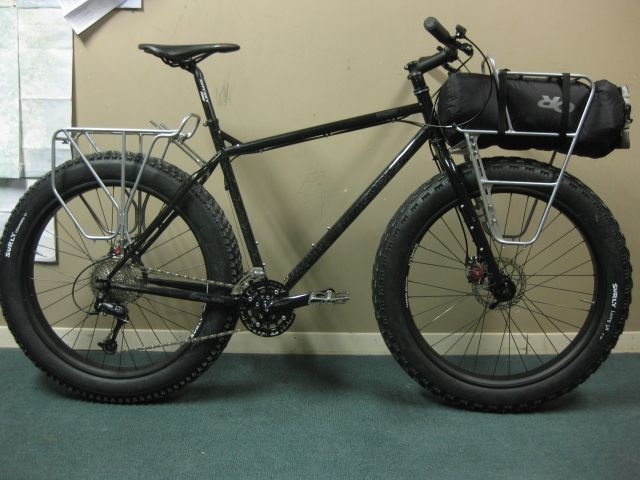 Surly Front Rack Mounts To Moonlander Fork No Modifications