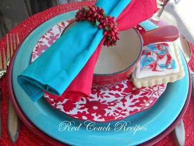 Red Couch Recipes: Tablescapes
