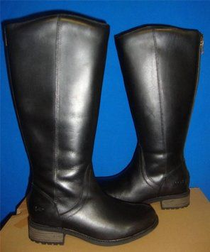 18d36512bc9 Black New Women s Seldon Leather 5.5. Boots Booties