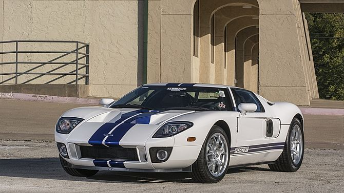 2005 Ford Gt 7 Miles All Four Options 2014 Anaheim Mecum