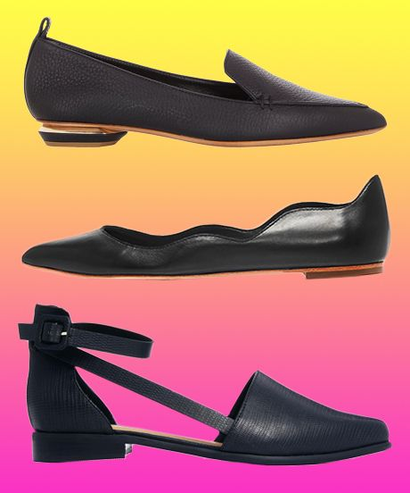 The Best Black Flats For EVERY Budget #refinery29  http://www.refinery29.com/affordable-black-flats