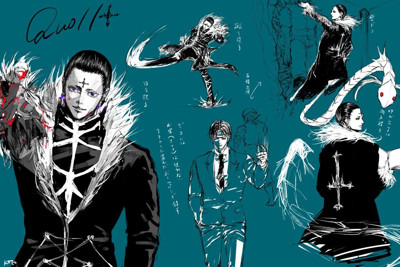 Chrollo Lucilfer Hunter X Hunter Anime Anime Boy